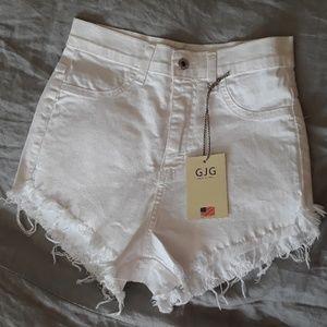 GJG denim Shorts - High waist GJG denim shorts size L